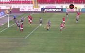 Прецизен прехвърлящ удар на Тиаго донесе преднина на ЦСКА