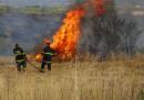 Голям пожар пламна край Благоевград