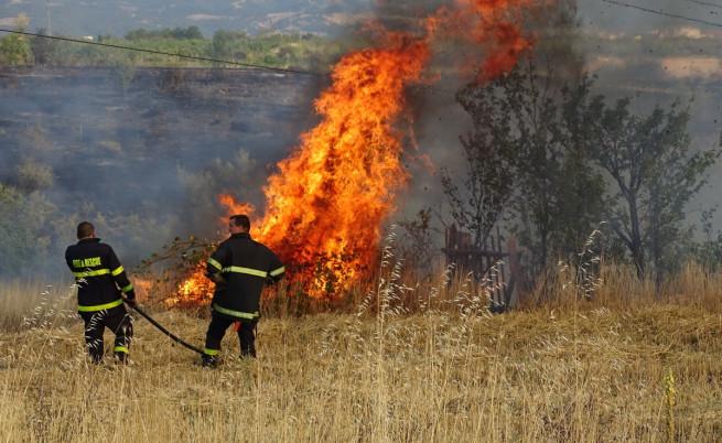 пожар Благоевград