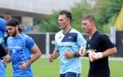 Първата тренировка на Делио Роси начело на Левски<strong> източник: LAP.bg, Владислав Иванов</strong>