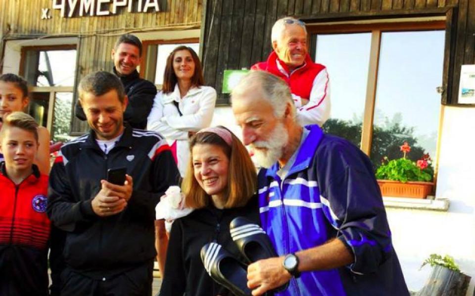 Известни маратонци участват в планинското бягане в еленския балкан