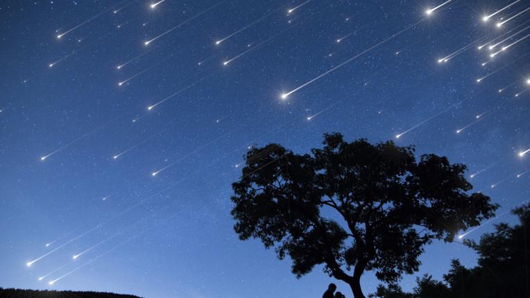 метеоритен дъжд метеор