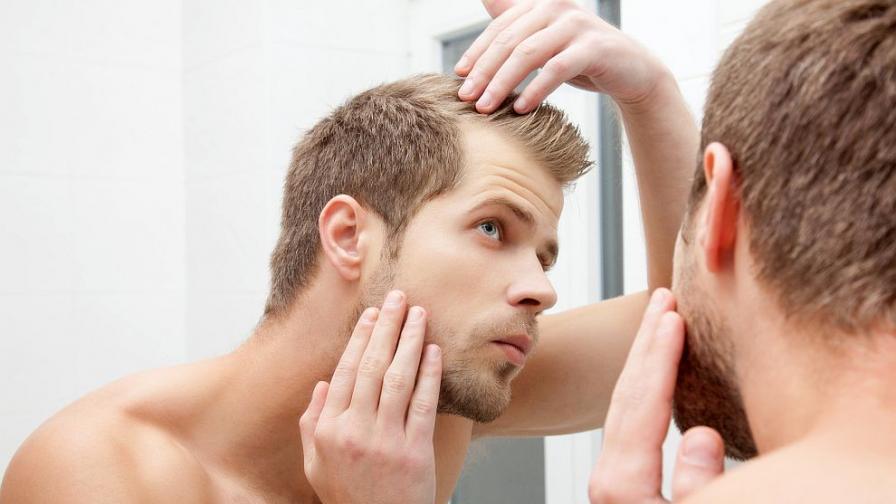 Оплешивяването е един от най-големите страхове на мъжете