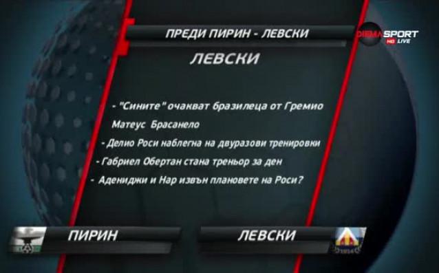 Левски търси нов успех с Роси начело срещу амбицирани