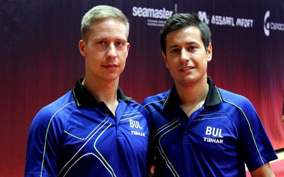 Александров и Коджабашев излизат от 13.40 в четвъртфинал срещу индийци