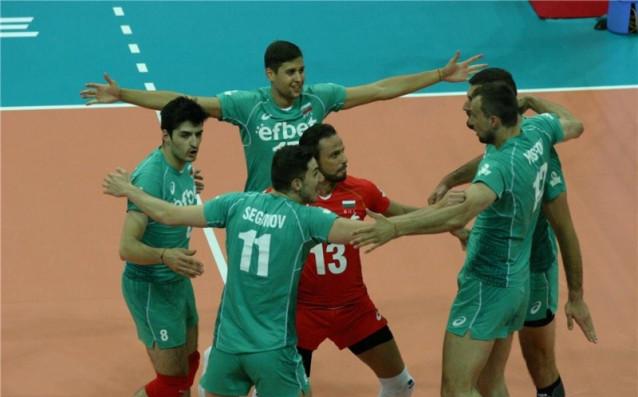 България - Локомотив Новосибирск източник: volleyball.bg