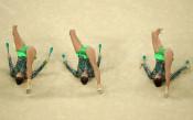Ансамбълът на България по художествена гимнастика на Олимпийските игри в Рио де Жанейро<strong> източник: Gulliver/Getty Images</strong>