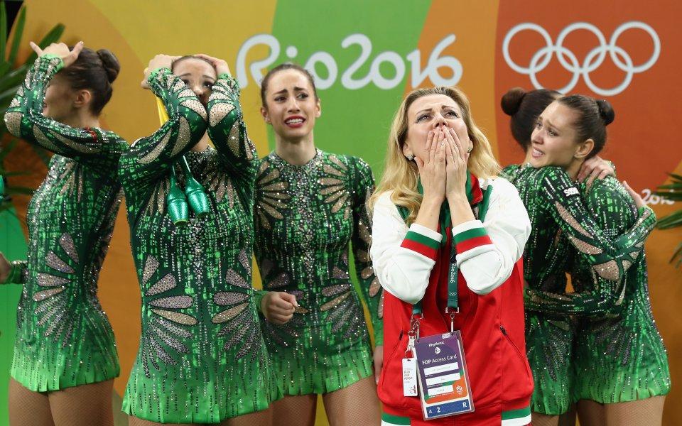 Християна от ансамбъла с разчувстващи слова за медала от Рио
