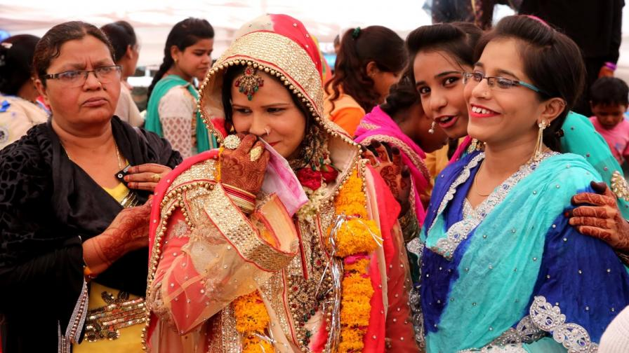 Мюсюлмански булки в Индия