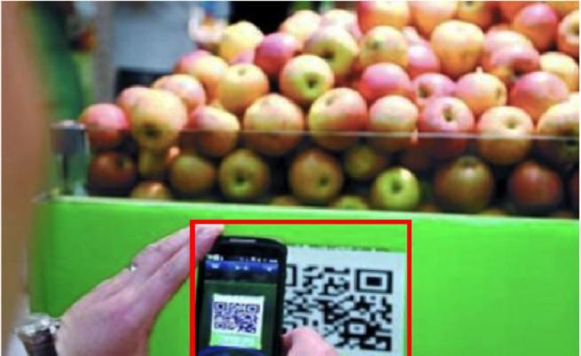 QR кодовете дават информация в магазините за хранителните продукти и техния прозход