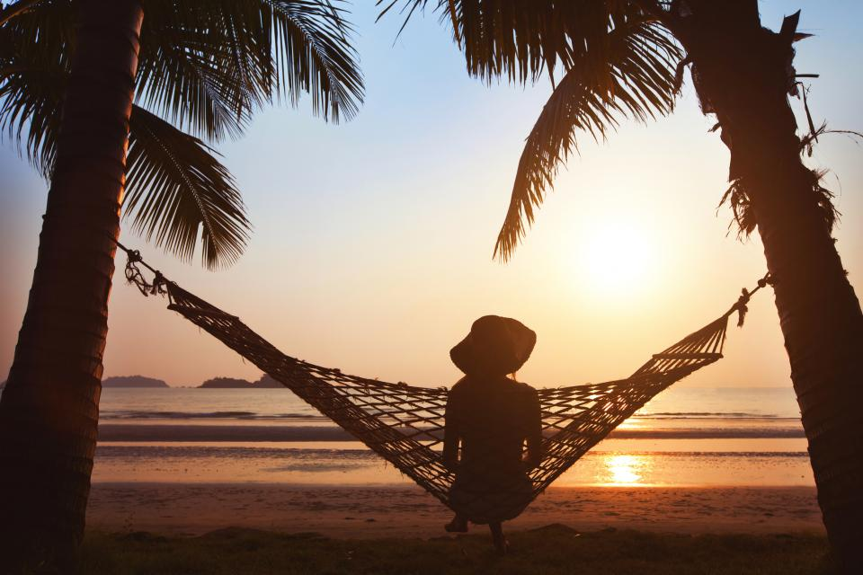 жена лято плаж остров