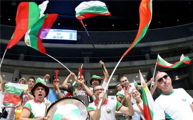 Волейболни фенове в Полша източник: Георги Христов