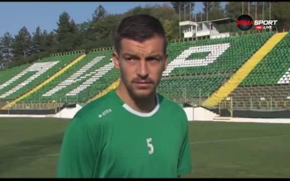 Костадин Ничев от Пирин е вашият избраник за Играч на мача