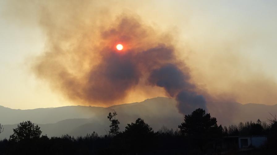 Пожарът в Кресненското дефиле е почти локализиран