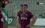 Боби Галчев порази Черно море с перфектен пряк свободен удар