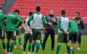 Българите тренират с настроение преди мача с Холандия