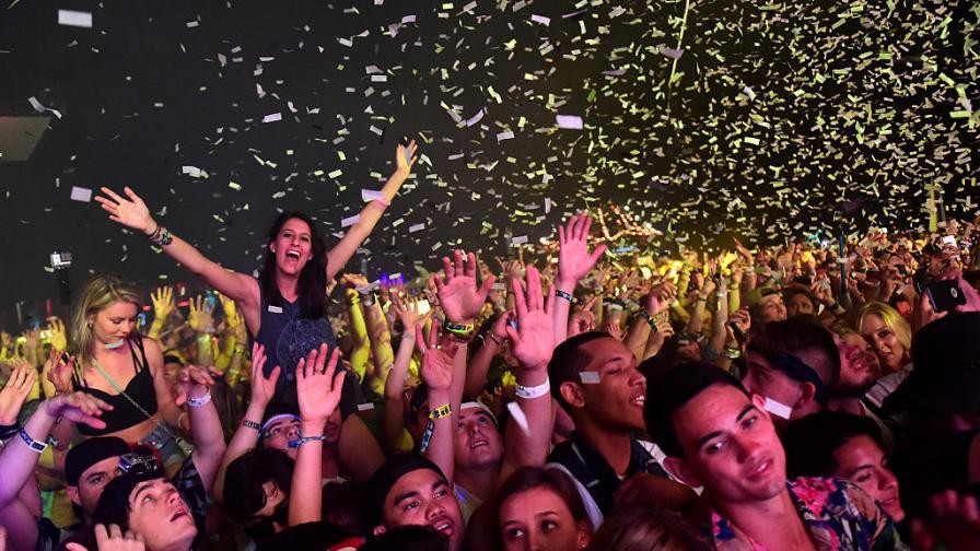 Публиката на фестивала Coachella 2015.