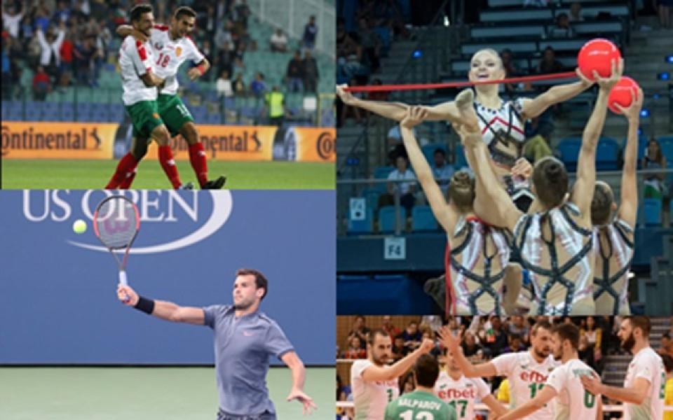 Футболните или волейболните национали, грациите или Гришо?