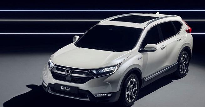 Хибридният Honda CR-V (с допълнението Prototype) ще направи дебют в