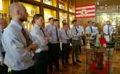 Британски офицери се запознаха с историята на ЦСКА