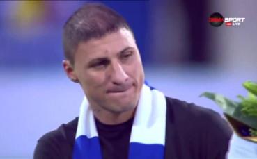 Йоргачевич си взе сбогом с футбола и феновете на Левски