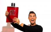 Роналдо на откриването на своята марка парфюми<strong> източник: Gulliver/GettyImages</strong>