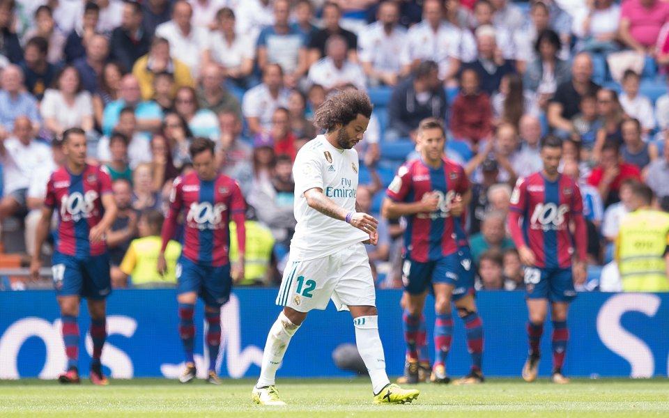 Реал се издъни срещу новак, с нова грешка на Бернабеу