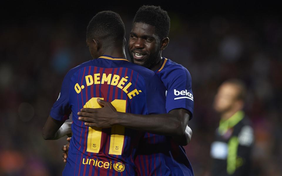 Барселона с най-добрия старт в своята история
