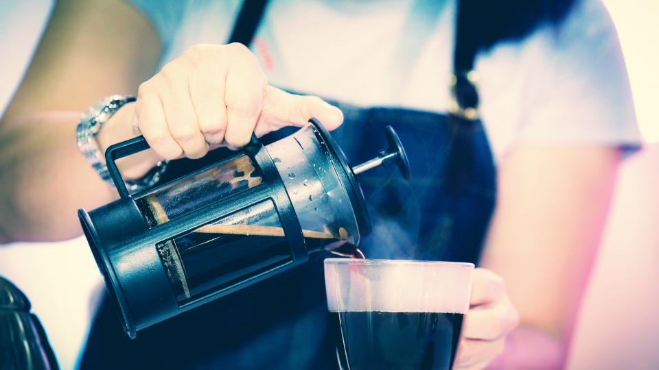 За перфектно кафе: използвайте френска преса