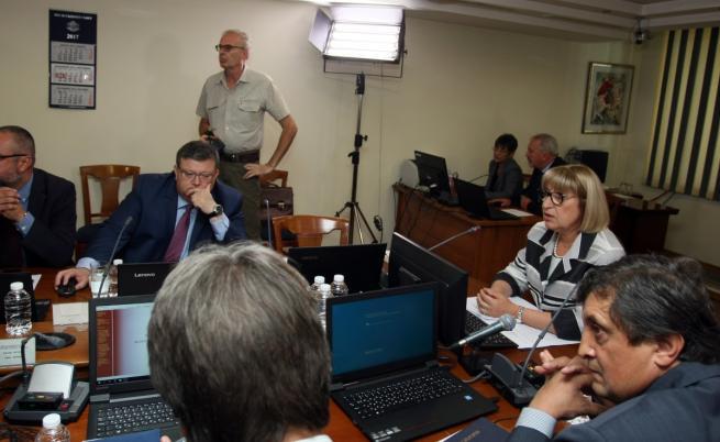 Заседанието на ВСС