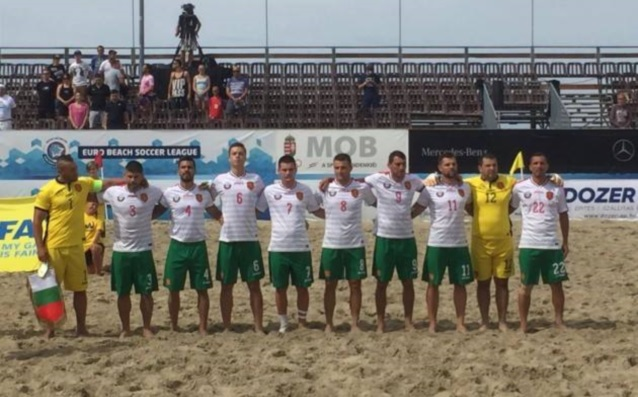националният тим на България по плажен футбол