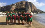 Националите по плажен футбол тренираха на стадион за 1800 души в Италия