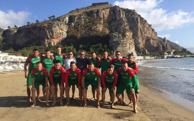 Национален отбор по плажен футбол