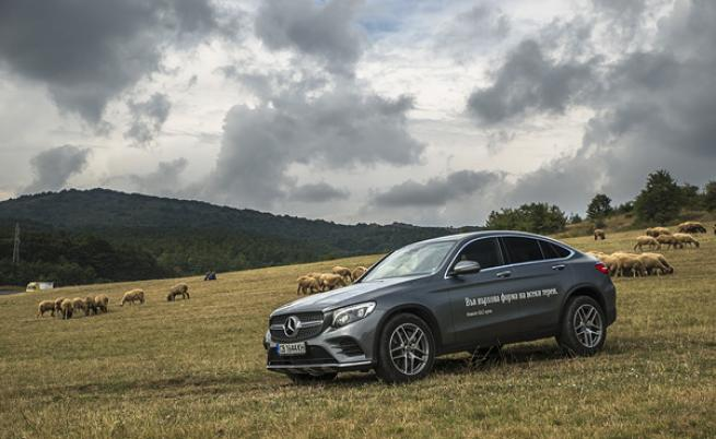 Mercedes Benz GLC Coupe тест драйв