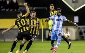 Лацио почна в Лига Европа с успех в трилър, Ница гази