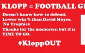 Феновете на Ливърпул събират пари, за да поискат оставката на Клоп