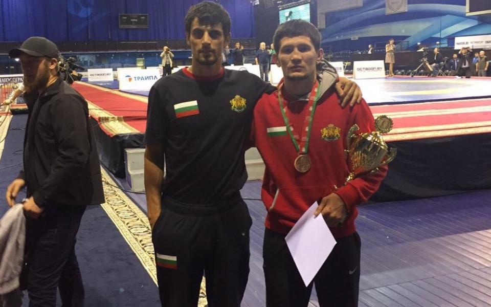 Дагестанецът Али-Паша Умарпашаев с бронз при дебюта си за България