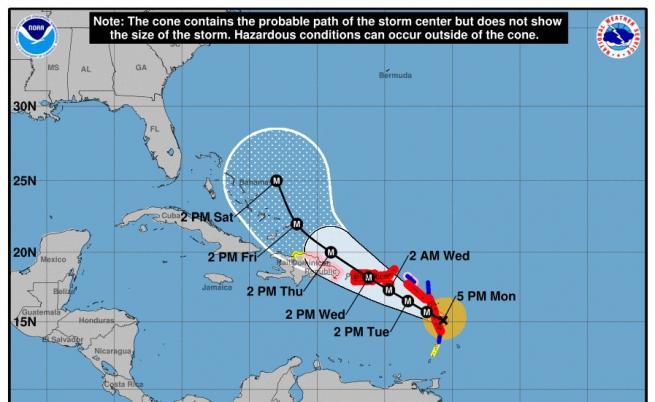 "Ураганът ""Мария"""