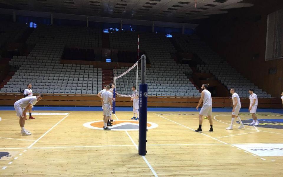 ВК Левски ще използва три зали през новия сезон