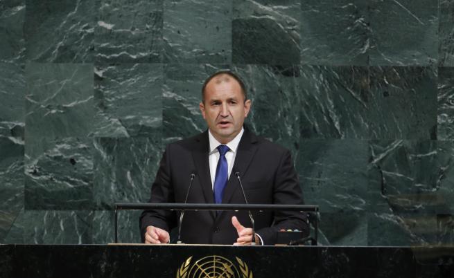 Румен Радев говори пред Общото събрание на ООН