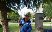 Паметникът на Апостола в Ихтиман<strong> източник: личен архив</strong>
