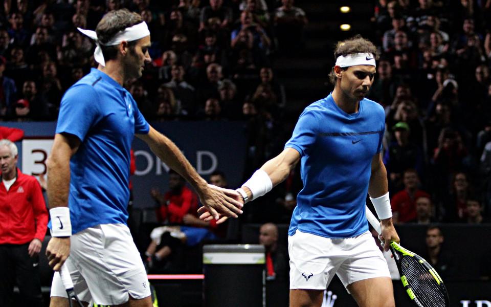 Случи се! Историческият тандем Надал-Федерер победи в първия си мач