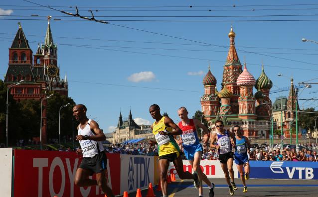 Маратонът в Москва<strong> източник: Gulliver/GettyImages</strong>