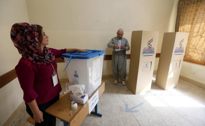 Въпреки Турция и Запада референдумът в Иракски Кюрдистан започна
