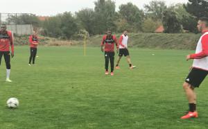 ЦСКА поднови тренировки след заслужена почивка