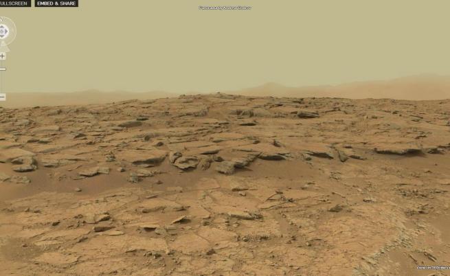 Вижте панорама от Марс в 4 милиарда пиксела