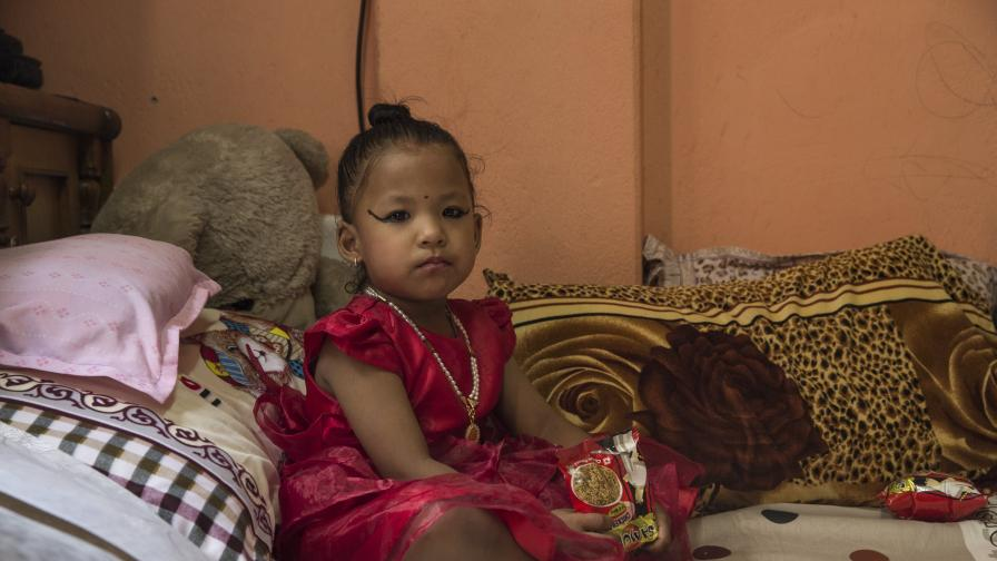 Непал избра новата си жива богиня