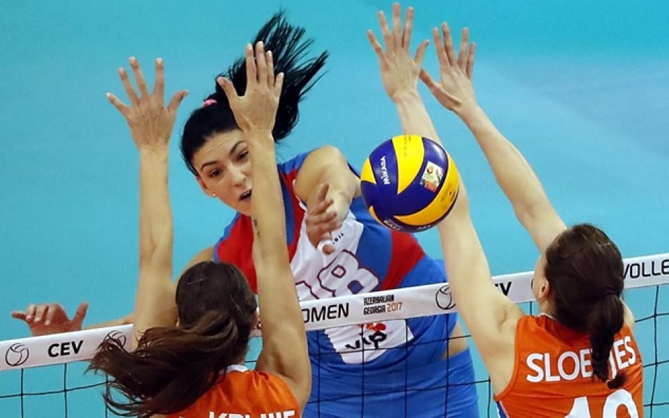 Сръбска националка е най-полезният играч на Евроволей
