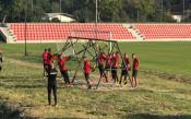 ЦСКА тренира на Панчарево<strong> източник: cska.bg</strong>
