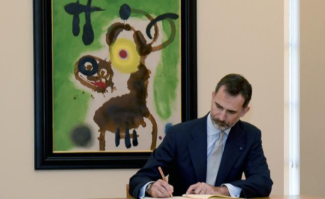 Испанският крал говори за пръв път: Референдумът е незаконен